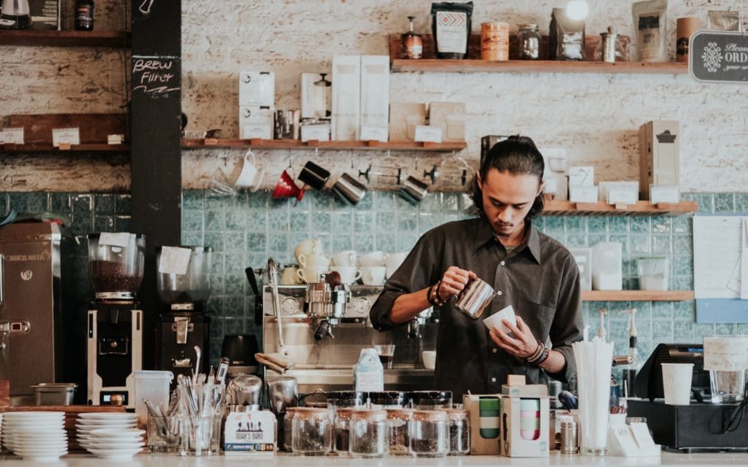 Support Local — What ifs?' and barista-made coffee